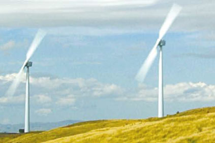 The project uses the two-bladed Windflow 500 turbine