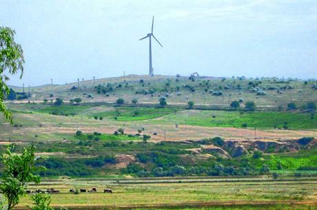 Romania has been one of the star wind power regions in eastern Europe