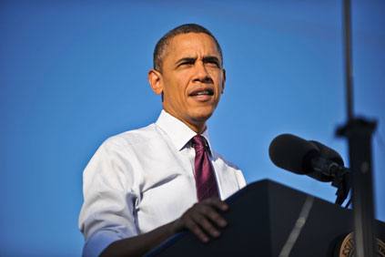 Obama: a second-term president can pursue a more aggressive renewables policy