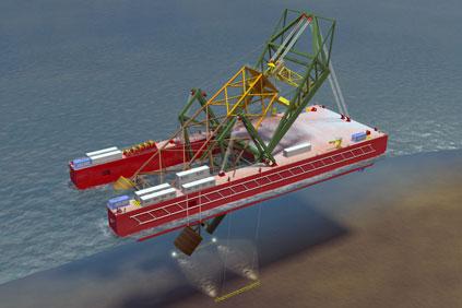 Barge...Ingenium AS Oslo undertaking model tests