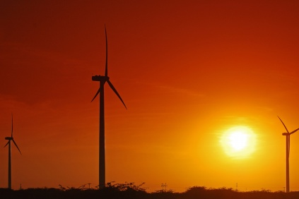The Kutch wind farm in Gujurat, for which Suzlon will supply turbines