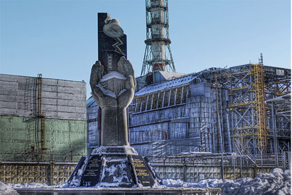 Germany's nuclear phase-out law was partly driven by the1986 Chernobyl disaster (above)