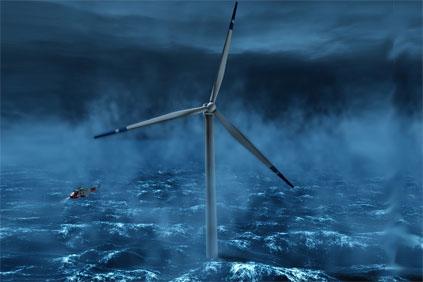 Statoil's Hywind floating platform uses a Siemens turbine