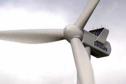 Vestas' V112 3MW turbine will be used on the project