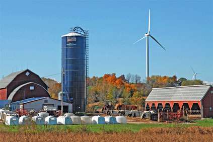The rules would have set a setback distance for Wisconsin wind farms