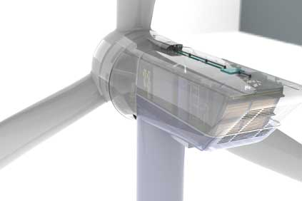 NPS 8MW offshore turbine uses direct drive