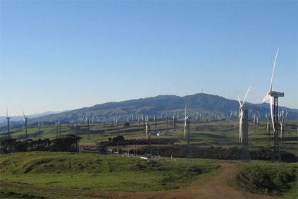 New Zealand's Taraua wind farm: broken into by thieves