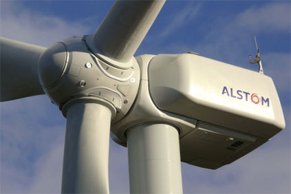 The project uses Alstom's ECO 100 turbine
