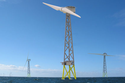 The 2-B 6MW turbine is backed by the Scottish  government
