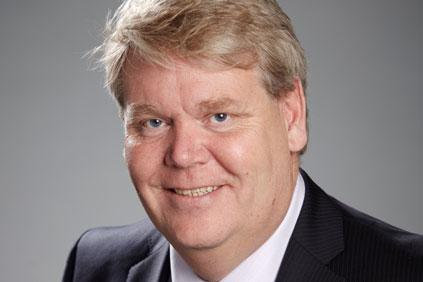 Heading for Vestas... Sony Ericsson president Bert Nordberg