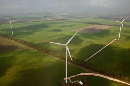 The 21MW Shabla wind farm