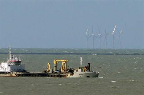 Repower 5m turbines in use at the Belgian Thornton Bank wind farm