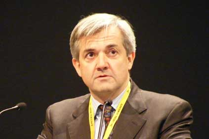 UK secretary for state for energy and climate change Chris Huhne