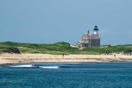 Block Island. Deepwater begins offshore surveys
