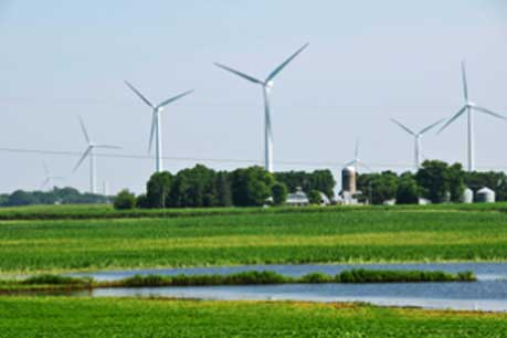 EDF's Lakefield wind farm in southern Minnesota