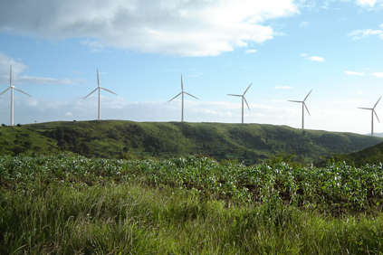 The Cerro de Hula wind farm