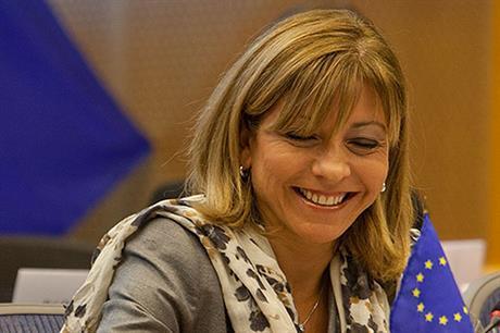 European Parliament vice-president Anni Podimata