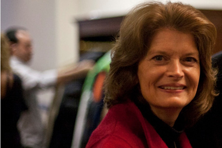 Repbulican senator Lisa Murkowski
