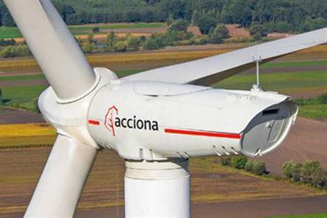 Acciona will install its 3MW turbines on both projects