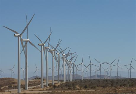Alta Wind cluster in California