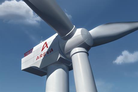 Areva's 8MW (Picture credit: Areva)