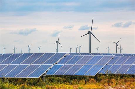 Solar and wind power added 81% of new renewable capacity last year (pic: DP Energy)