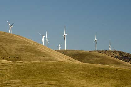 Cannon's Windy Point wind farm in Washington state