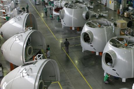 Developers are required to source turbines produced partly in Brazilian factories