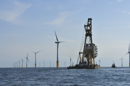 Van Oord previously constructed the Belwind project off the Belgian coast