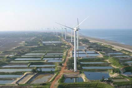 MingYang 1.5MW turbines
