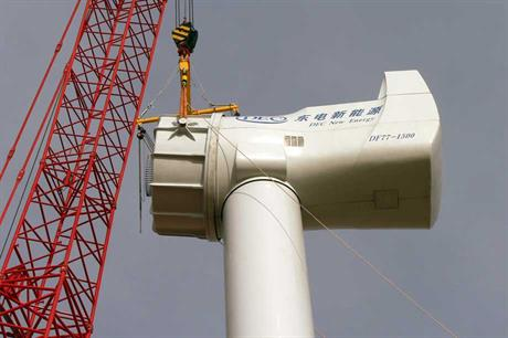 Chinese wind turbine maker Dongfang Electric has exported three 1.5MW direct-drive permanent magnetic wind turbines to Finland. It did not name the Finnish buyer.