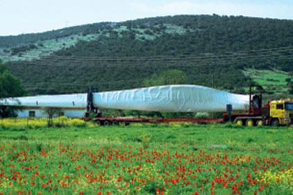 Planning delivery of turbine parts is just one of the many jobs to be co-ordinated