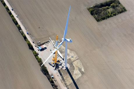 Denmark reaches 4GW onshore wind