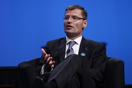 Ditlev Engel in his days as CEO of Vestas (pic: Justin Lott)