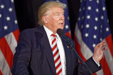 Donald Trump  (pic: Michael Vadon)