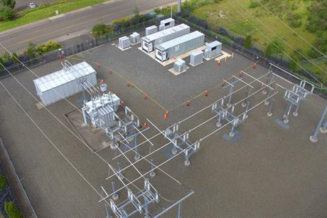 The storage project has been installed at a SNOPUD site in Washington state