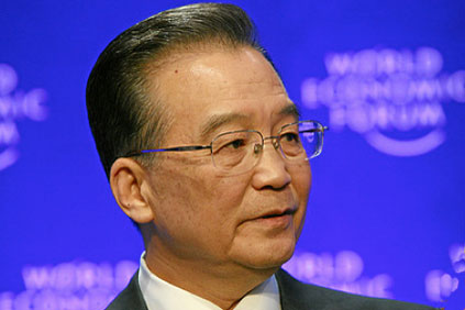 China's premier Wen Jiabao... China must strengthen overall planning