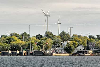Wolfe Island wind farm: included in the Fit list