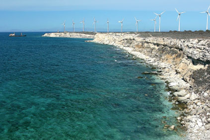 Projects such as the 10MW wind farm at Bores in the Marmura region have helped Turkey double its installed capacity
