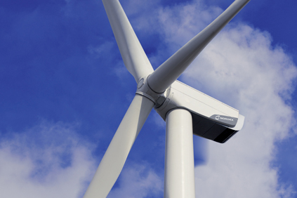 Nordex's N100 turbine will be used on the Elk Wind Farm