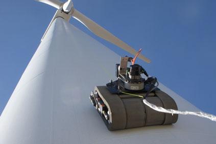 GE remote wind turbine inspection device