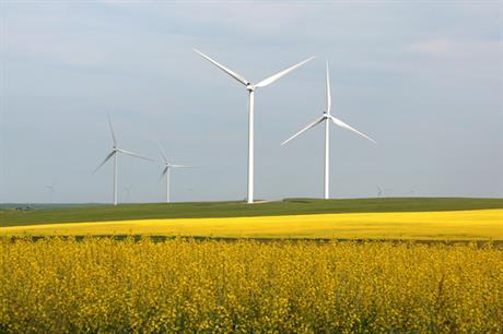 Vestas supplied EDF-EN's Blackspring Ridge project in Alberta in 2014