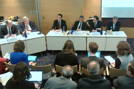 The industry's CEOs debating the EU's policy framework
