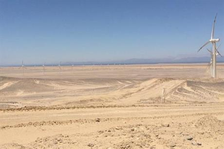 The MoU plans 500MW of new wind capacity in El Zayt, east Egypt (pic: European Commission)