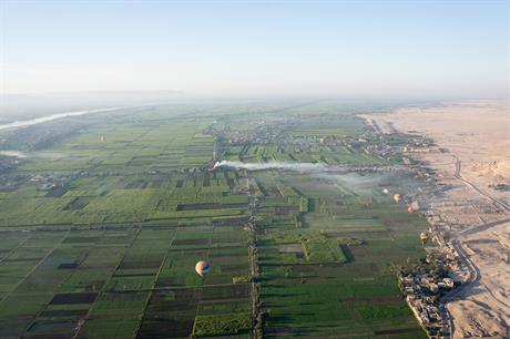 Some of the projects will be located in Egypt's Nile Valley