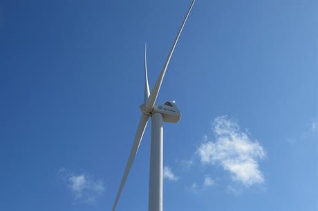 Envision's 3MW turbine will be installed at the project