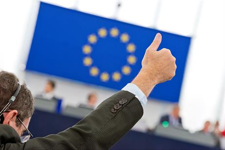 Draft legislation to reform the ETS has been agreed (pic: European Parliament)