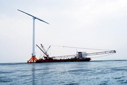 Ming Yang's SCD turbine