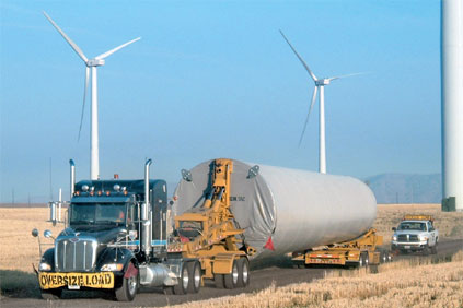 Even giant Schnabel trailers sometime struggle with giant 3MW components