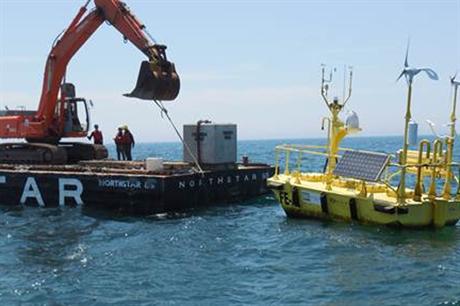 Fishermen's Energy had a lidar installed off the coast of Atlantic City, New Jersey
